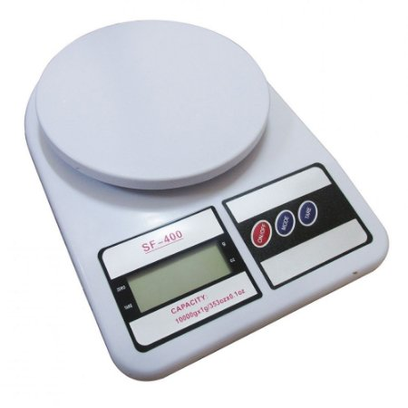 Balança Digital Precisão 10 Kg Cozinha, Dieta, Fitness