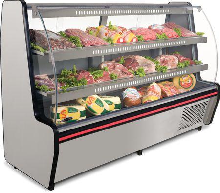 Balcão Refrigerado Visorâmico 2m (2 Pistas) VIS-200