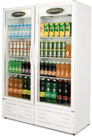 Expositor Refrigerado Vertical 850 Litros ERV-850 (220v)