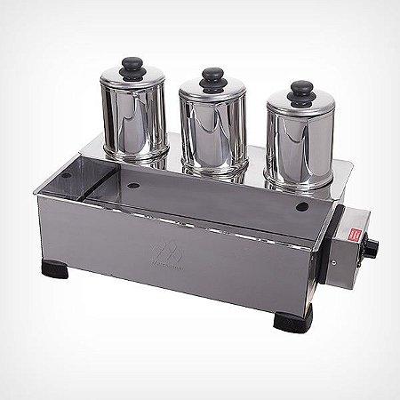 Esterilizador 3 Bules com Termostato - 220v (ES.1.392)