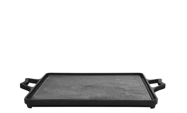 Chapa de Ferro para Fogão Lisa 40x40