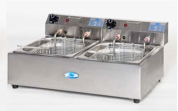 Fritador Elétrico 2 Cubas (2L) FT02L - 220v