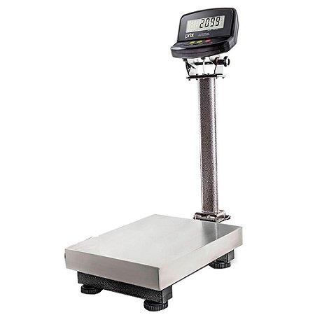 Balança Eletrônica 120kg (2098) - Inox (Sem bateria / Com coluna)
