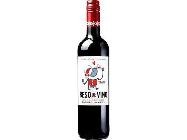VINHO TT BESO DE VINO XMAS EDITION CARINENA 2014 750ML