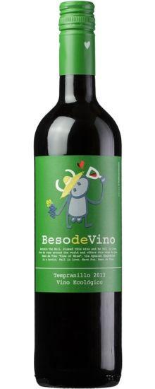 Beso de Vino Tempranillo Ecológico 750ML