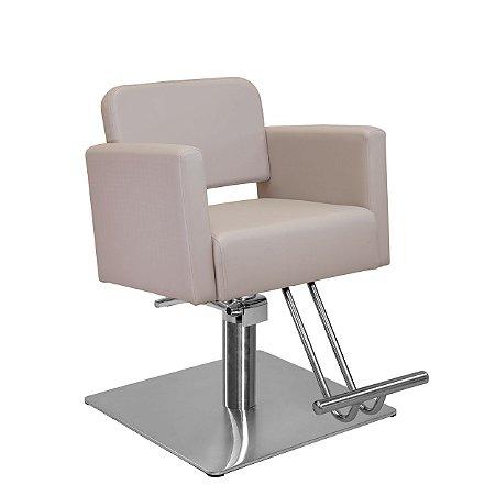 Cadeira de Cabeleireiro Toscana Encosto Fixo sem Cabeçote