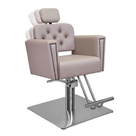 Cadeira de Cabeleireiro Savona Encosto Reclinável com Cabeçote