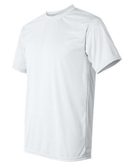 Camiseta em Dry Fit 100% Poliester Branca Lisa para Sublimação - Mínimo 12  pçs 9e7613d69af97