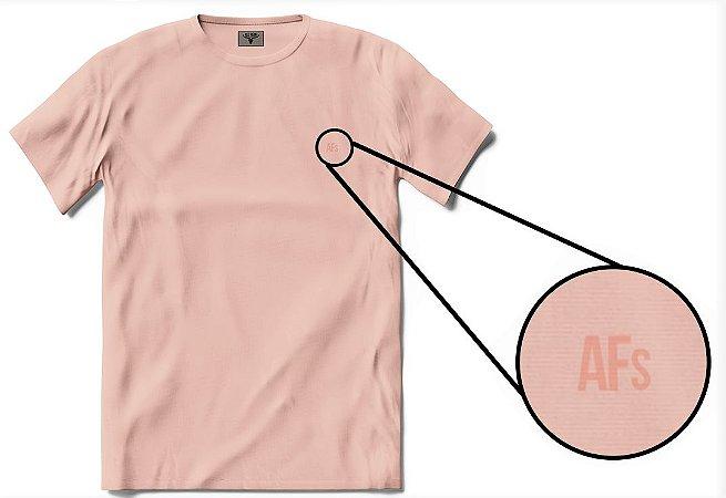•T-shirt AFs Basic - Rosa Seco•