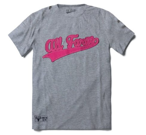 •T-shirt All Farm - Cinza•
