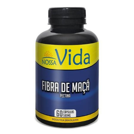 FIBRA DE MAÇÃ 60 CAPS