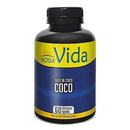 OLEO DE COCO 60CAPS