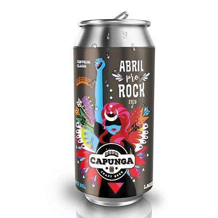Capunga Lager Abril pro Rock 2019 473ml