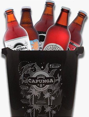 Kit 5 cervejas + Balde
