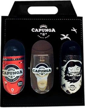 Kit com 1 APA de 600 ml +1 Copo Pint + 1 Cumade Florazinha (IPA) de 600 ml