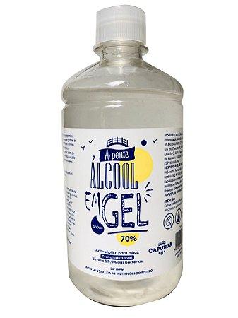 Álcool em gel 500ML - A PONTE
