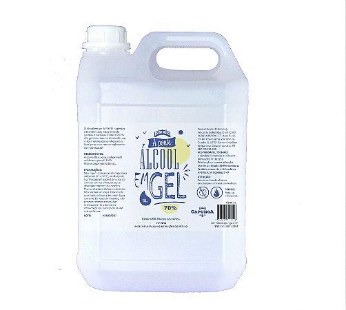 1 unidade Álcool em gel 5L - A PONTE