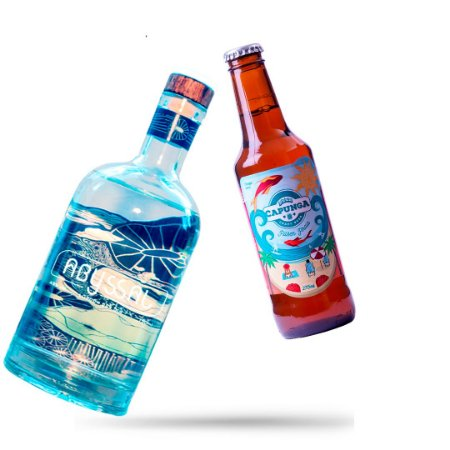 KIT 1 GIN + 12 PILSEN PRAIA 275ML