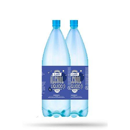 6 Álcool Líquido 70% - A PONTE