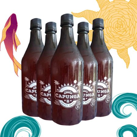 COMBO 8 PET GROWLER DE 1L DE CHOPP PILSEN PRAIA - PET GROWLER INCLUSO