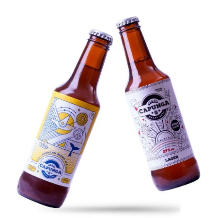 18 AMERICAN BLOND ALE 275ML + 18 CAPUNGA LAGER 275ML
