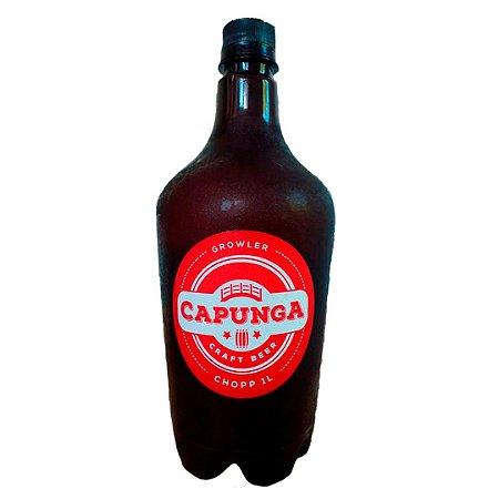 1 LITRO CHOPP CAPUNGA NE IPA (LANÇAMENTO) - PET GROWLER INCLUSO