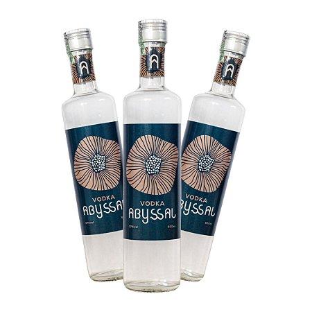 3 Vodka Abyssal 500ml (LANÇAMENTO)