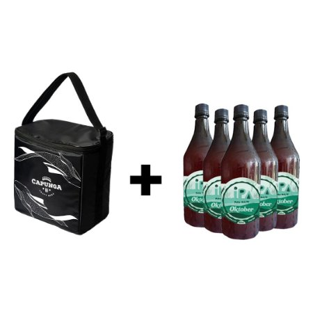 KIT BOLSA TÉRMICA BASIC + 5 GROWLERS 1L OKTOBER IPA