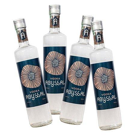 4 Vodka Abyssal 500ml (PAGUE 3, LEVE 4)