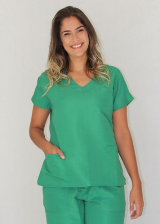 Scrubs Verde Esmeralda Feminino
