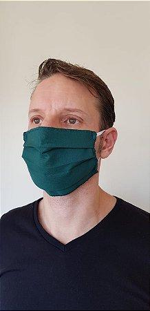 Máscara Dupla Verde Floresta