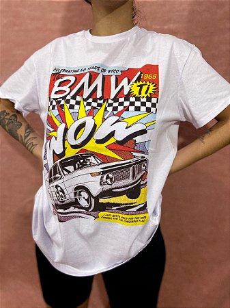 Camiseta HQ Car - Branca