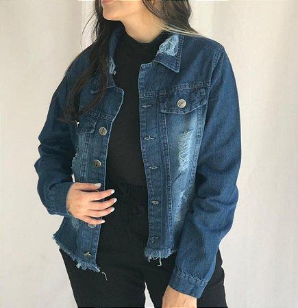 Jaqueta Jeans - Escura