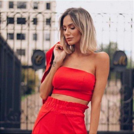 Cropped Faixa - Vermelho