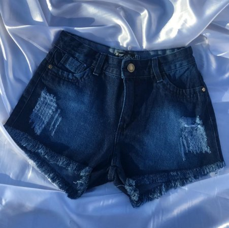 Short Jeans - Escuro