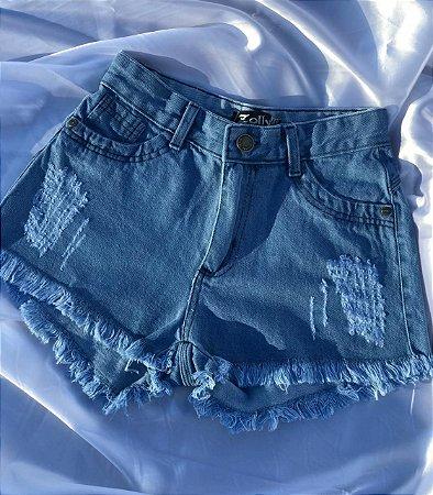Short Jeans - Claro
