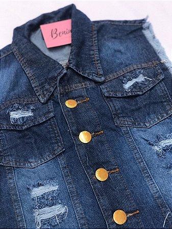 Colete Jeans - Escuro