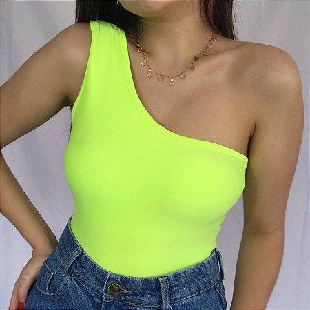 Body Ombro Só - Amarelo Neon