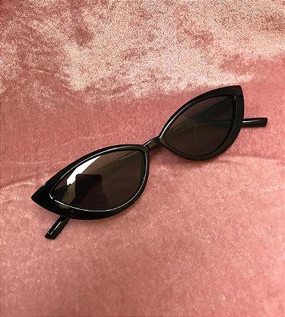 Óculos de Sol Gatinho - Preto