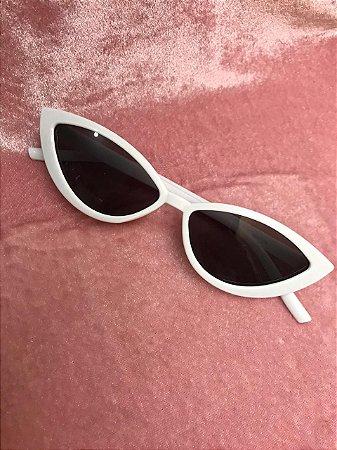 Óculos de Sol Gatinho - Branco