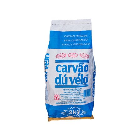 CARVÃO SACO 3 KG DUVÉIO