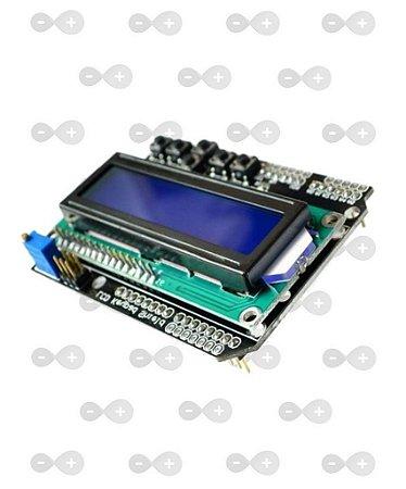 Arduino LCD Shield com Teclado