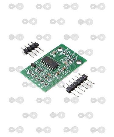 Conversor Amplificador HX711 24bit 2 canais para Sensor de Peseso