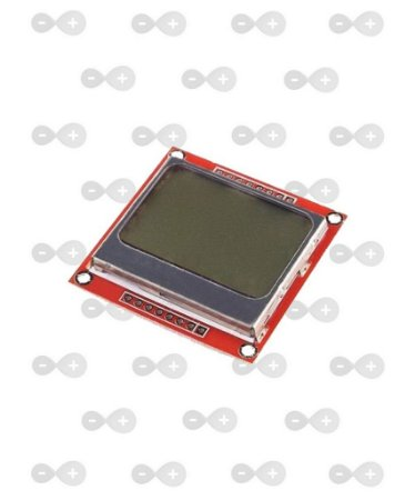 Display LCD Nokia 5110 84x48 pixels