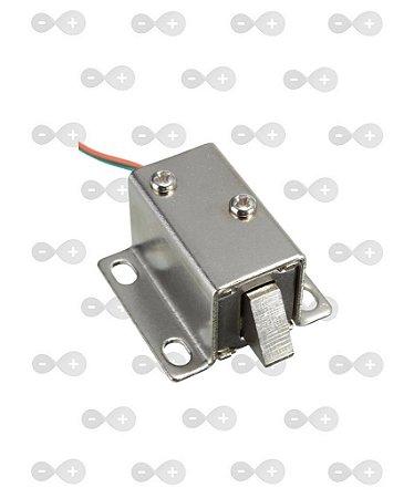 Mini Fechadura Solenóide Eletrônica 12v Para Arduíno