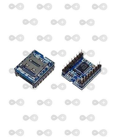 Módulo MP3 Arduino WTV020-SD