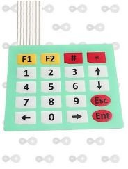 Teclado Matricial De Membrana 4x5 - 20 Teclas Arduino E Pic