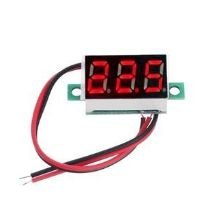DISPLAY VOLTIMETRO 2,5 A 32V DC 2 FIOS
