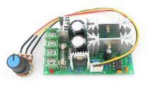 Controlador PWM 10-60V 20A Regulador Com Potenciômetro