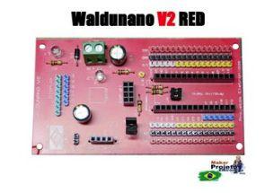 WALDUNANO V2 RED - A PLACA PARA TODOS OS PROJETOS (IoT)
